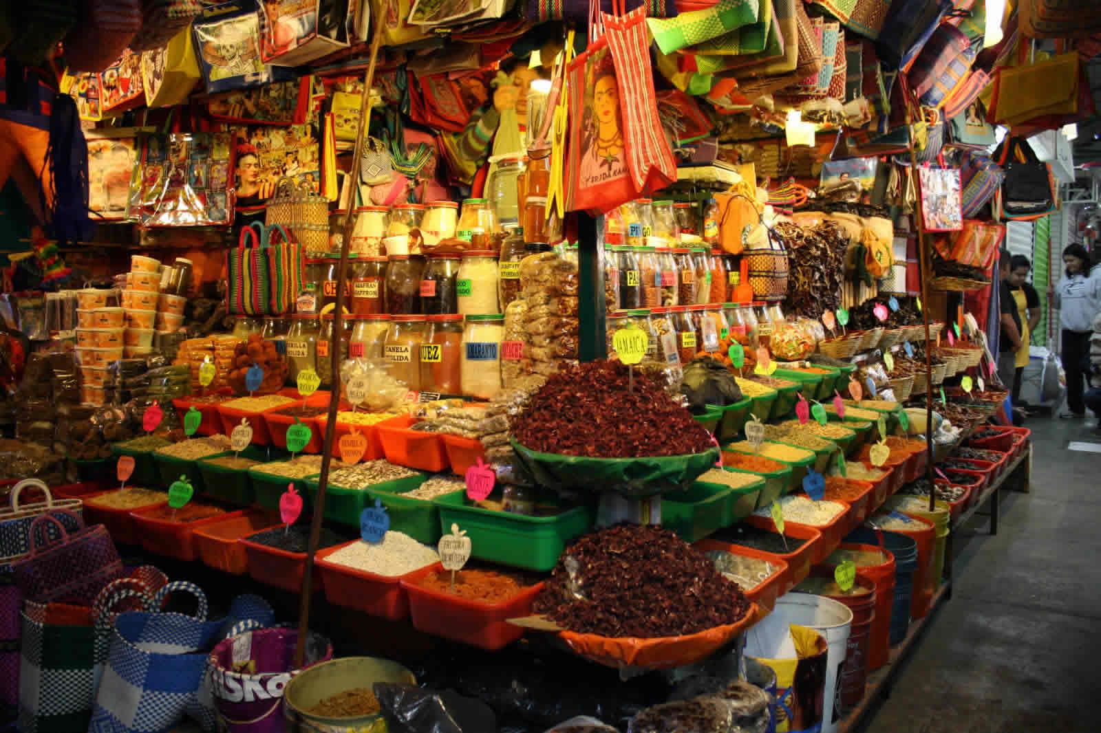 Mercado en Oaxaca