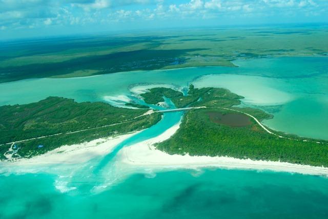 Arrecifes de Sian Ka'an y Uaymil