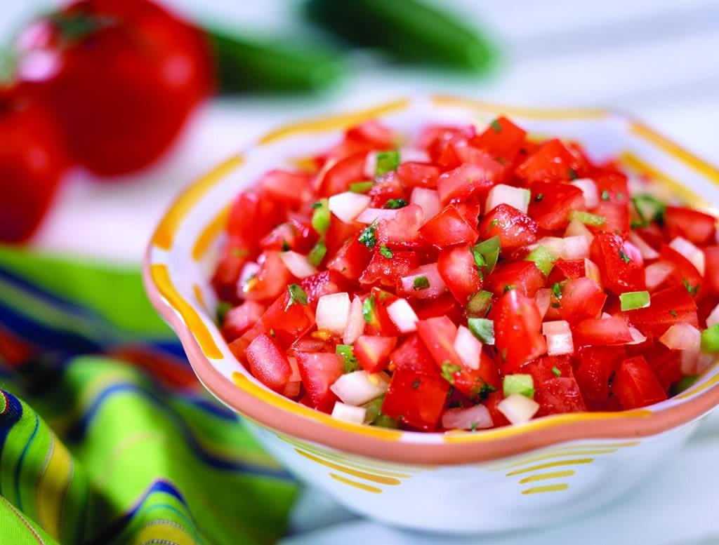 Receta Salsa Mexicana