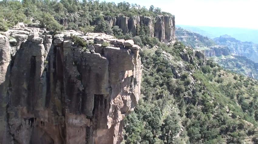 Mirador La Piedra Volada, Chihuahua