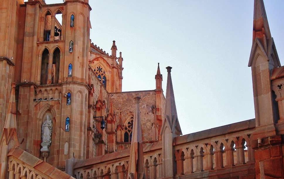 La Catedral y Templos en la Ciudad de Zacatecas