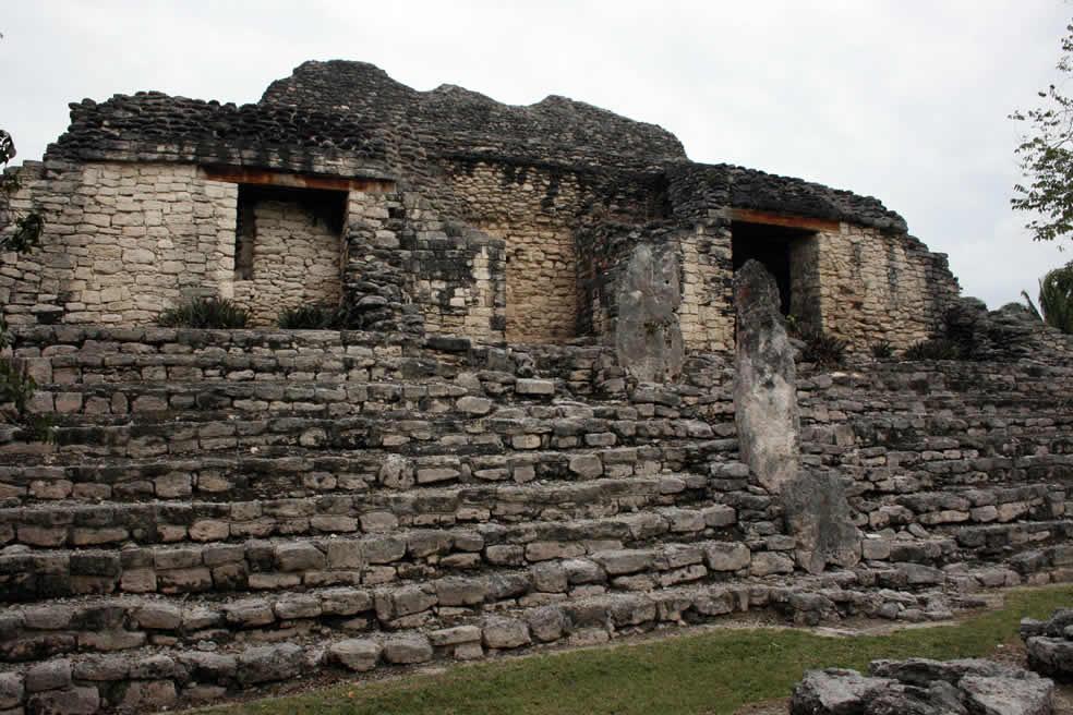 Zona Arqueológica Kohunlich en Quintana Roo