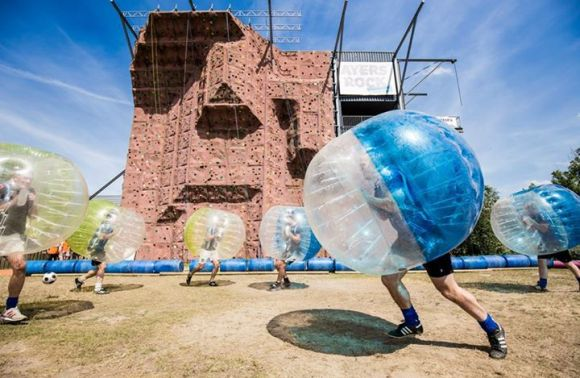 Bumberball experience toernooi – Ayers Rock