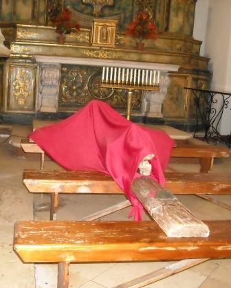 crocifisso velato - il Giovedì Santo
