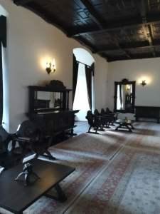 Sala tronurilor din cetatea fagaras