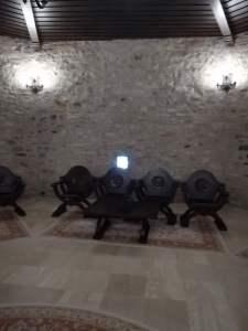 imagine interior cetatea fagarasului