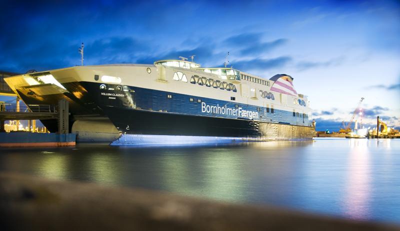 Billigere færgebilletter uden for højsæsonen har givet bonus, lyder det fra rederiet Færgen. (PR-foto: Rederiet Færgen)
