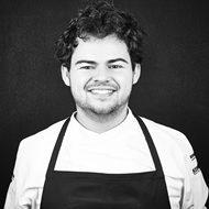 Kristoffer Ringsing fra Restaurant Ti Trin Ned i Fredericia er svag favorit til at vinde Årets Kok. (Foto: Claes Bech-Poulsen/Horesta)