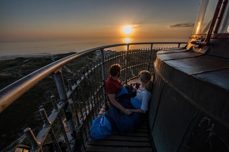 Esmark Feriehusudlejning har sat en tårnhøj gevinst på højkant for at gøre flere opmærksom på Vestkystens kvaliteter. Du kan vinde en overnatning i Lyngvig Fyr. (PR-foto)
