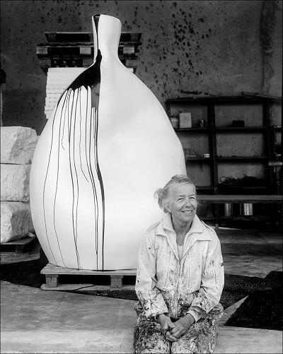 Lin Utzons kunst skal være et grundelement i Lysets Museum. (Foto: Fonden Hornbæk Kunstmuseum)