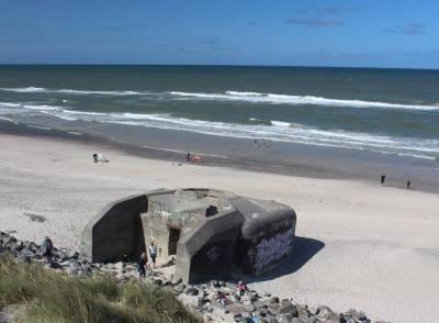 Bunker ved Søndervig Strand. (Foto: Ringkøbing-Skjern Kommune)