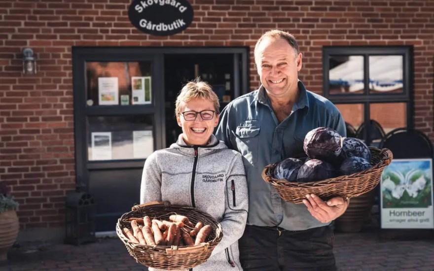 Skovgård Gårdbutik er et af de steder, der har meldt sig som værter for autocamperturisterne. (Foto: Frederik Maj)