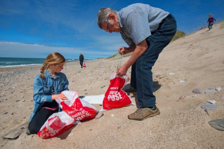 I event-boxene er der konkurrencer med havmiljørigtige præmier til børn og voksne. (PR-foto: Havmiljøvogterne)