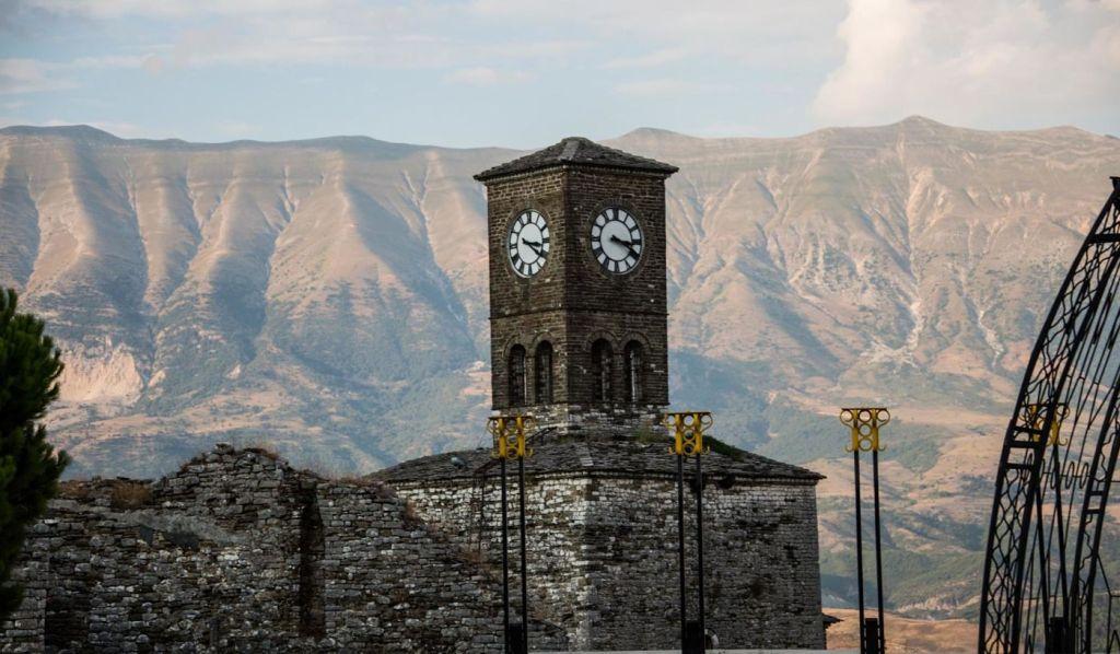 Clock Tower Di Argirocastro Opt