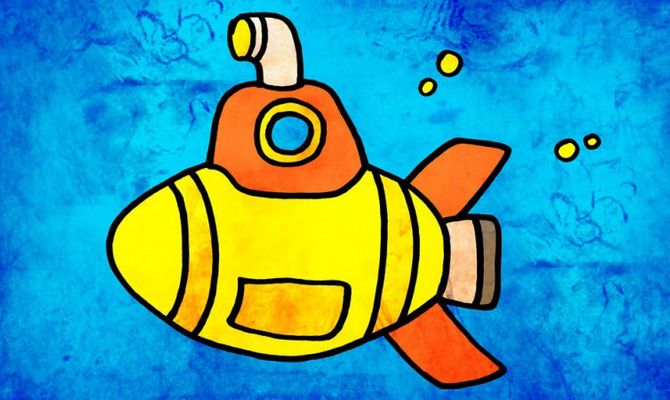 Risultati immagini per sommergibili cartoni animati