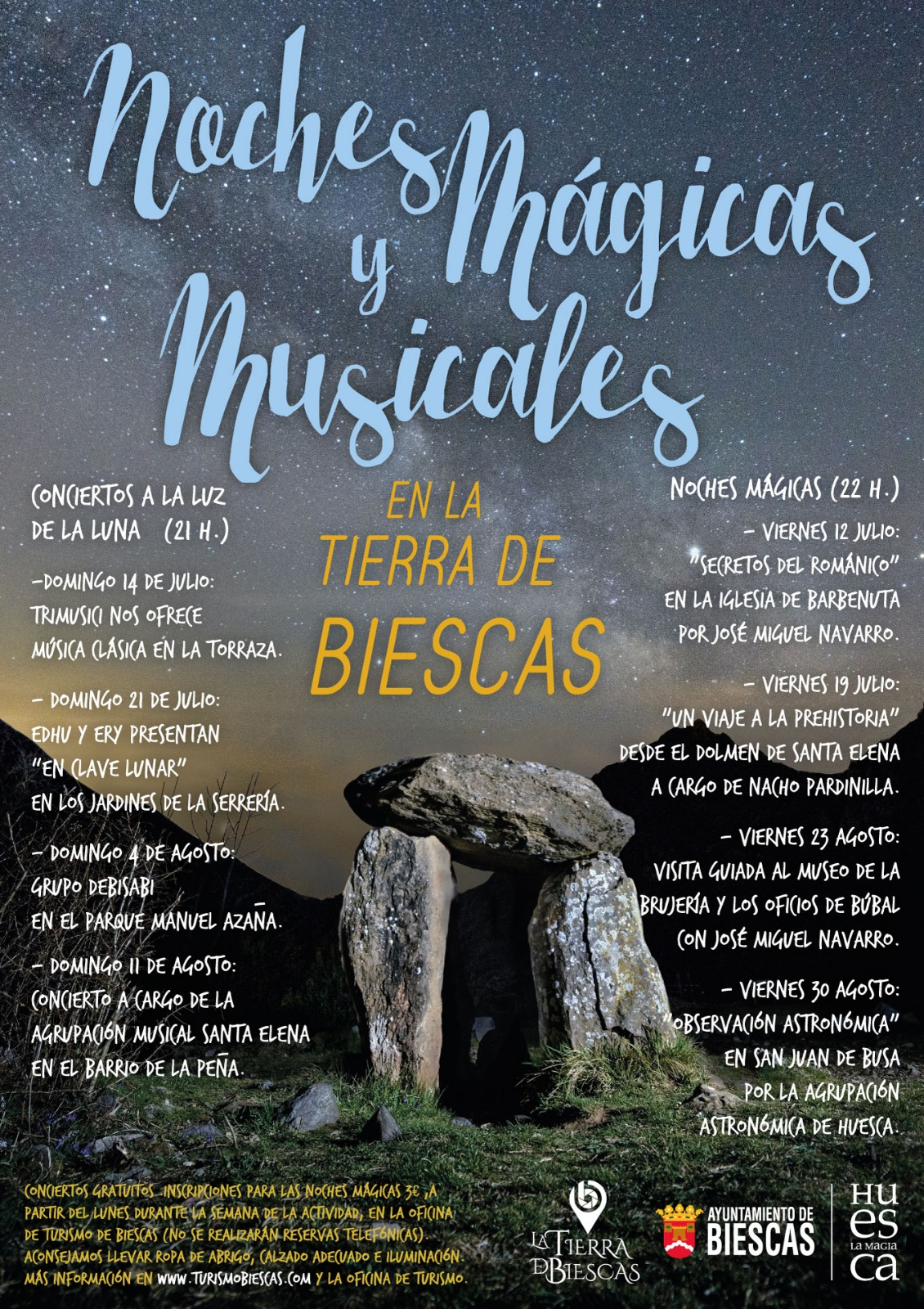Noches Mágicas y Musicales por la Tierra de Biescas