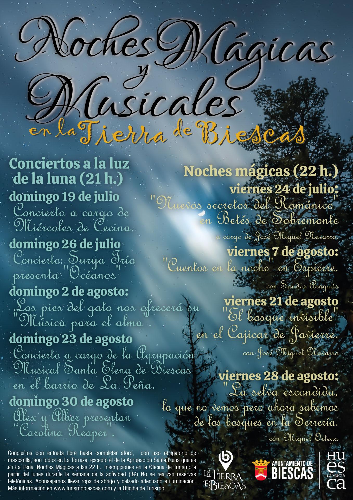 Noches Mágicas y Musicales