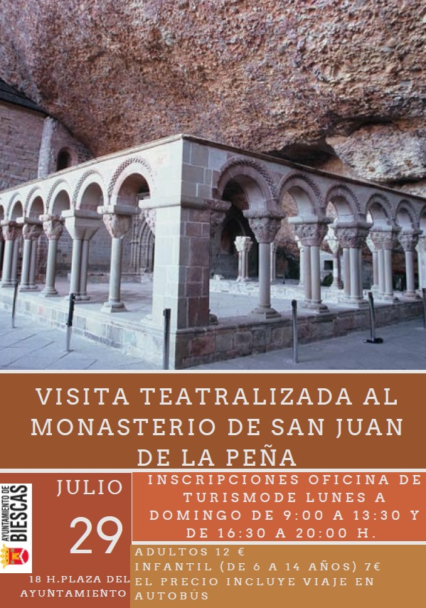 Visita teatralizada al Monasterio de San Juan de la Peña