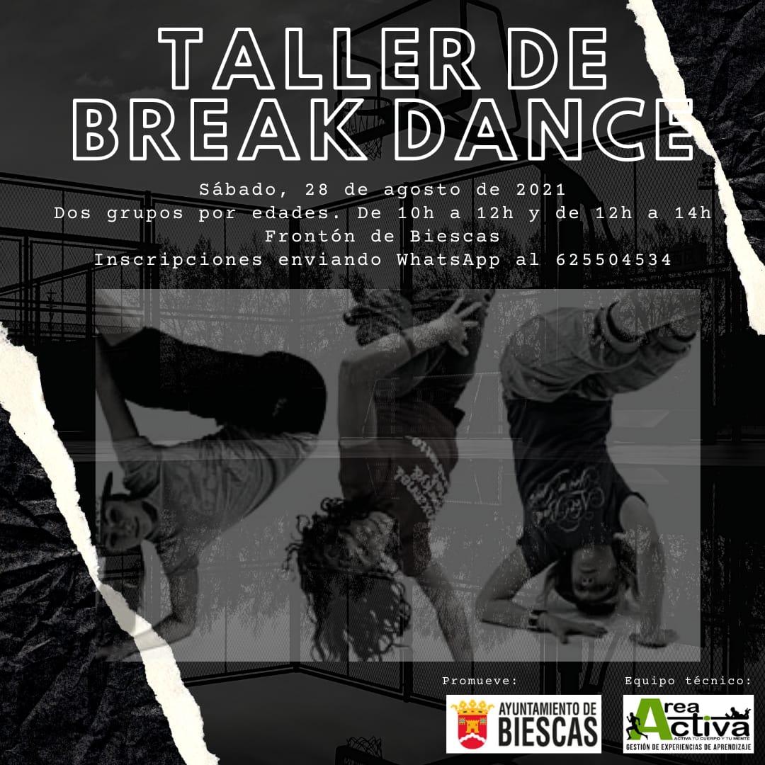 TALLER DE BREAK DANCE