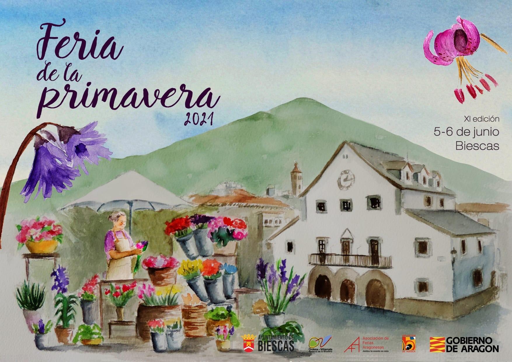 Feria de la Primavera 5 y 6 junio 2021