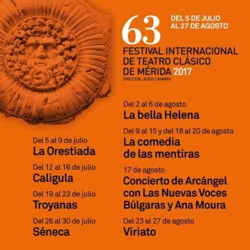 Teatro romano de Mérida festival
