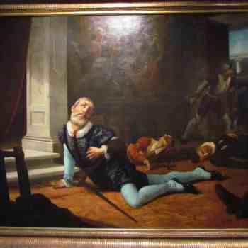 Muerte horriblemente traicionado Pizarro