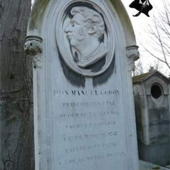 Manuel de Godoy Príncipe de la Paz y su tumba en París