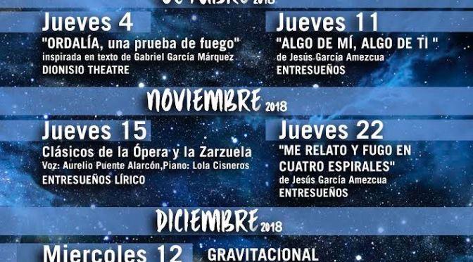 'Noches de Entresueños' en el Alhambra Palace, Ciclo de Teatro y Música