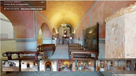 Ruta en 3D por las 9 ermitas barrocas de Castelló... ¡en un click!