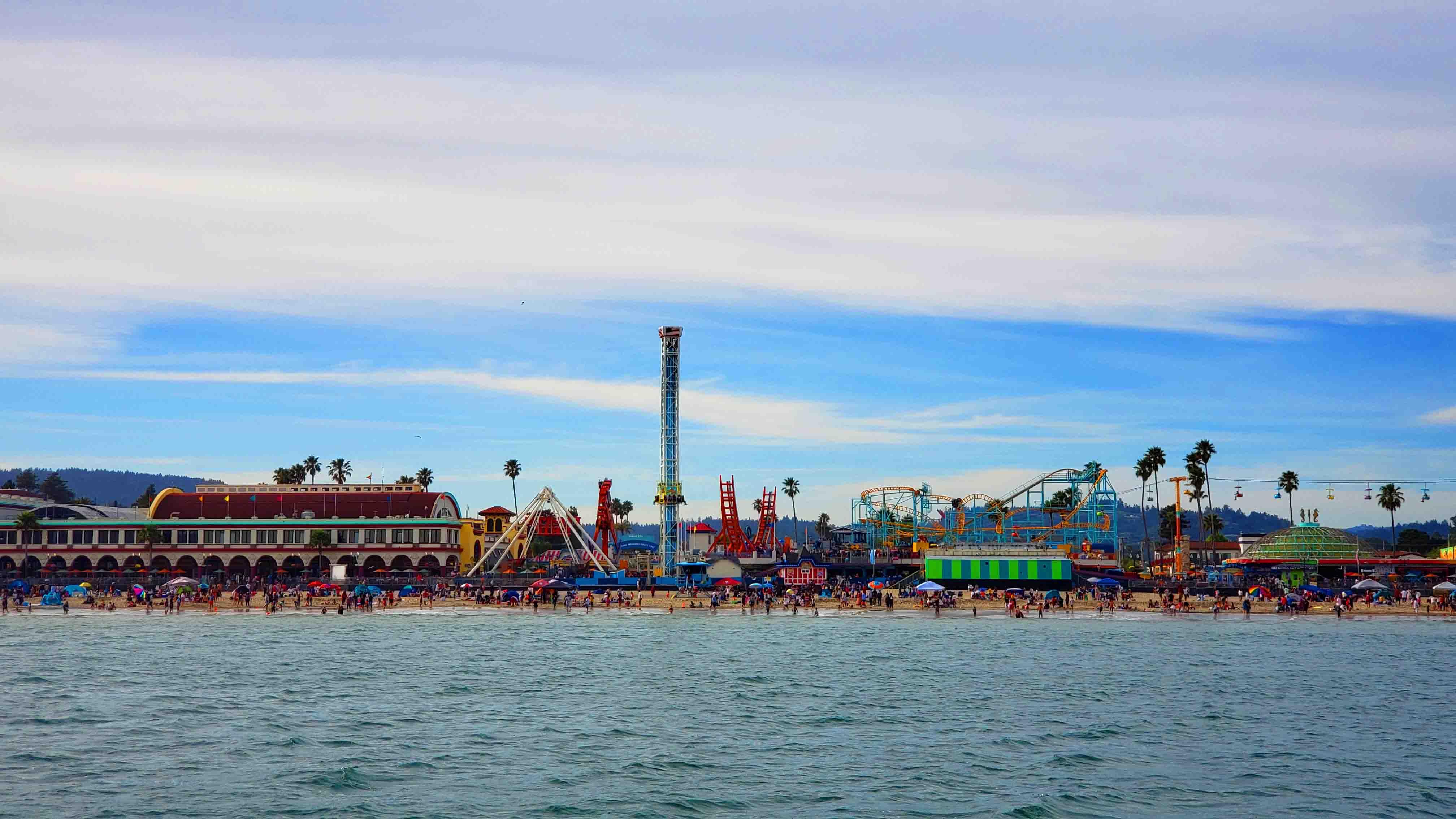 Boardwalk em Santa Cruz