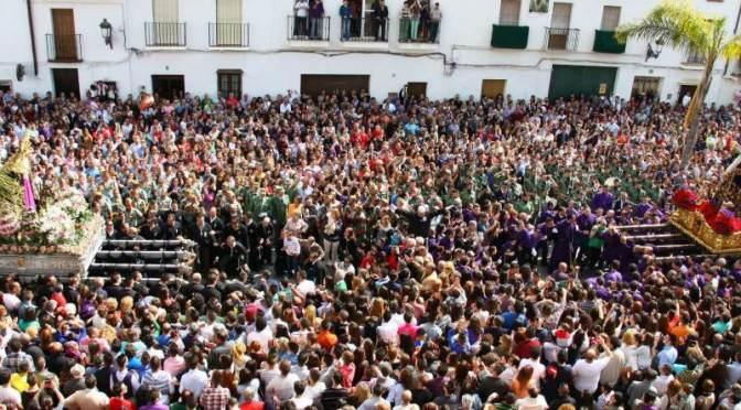 """Semana Santa de Álora """"La Despedía"""""""