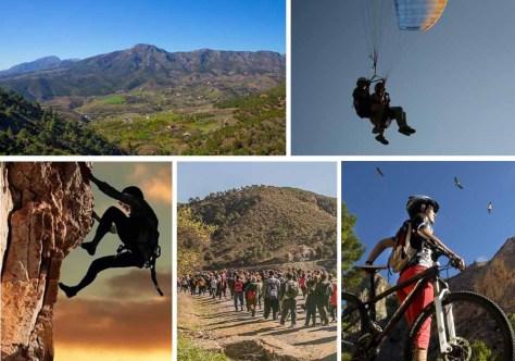 turismo de aventura en malaga