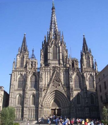 Catedral Gotica de Barcelona 1