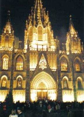 Catedral Gotica de Barcelona 3