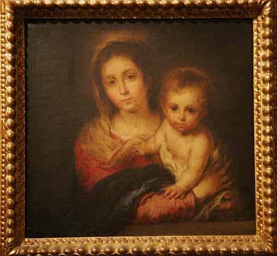 Virgen de la Servilleta - Murillo