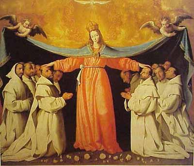 Virgen de las Cuevas - Zurbaran