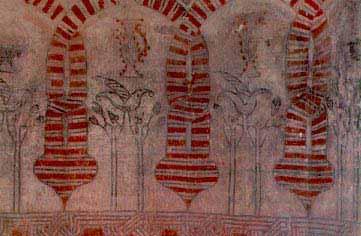 mural castillo de coca