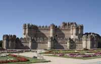 Castillo  de Coca en Segovia 1