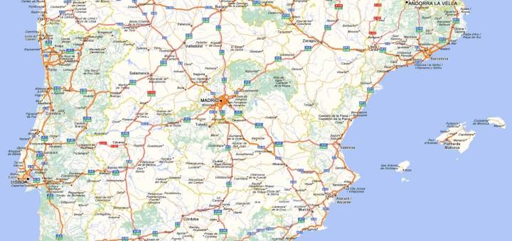 Mapas de España   Turismo por España