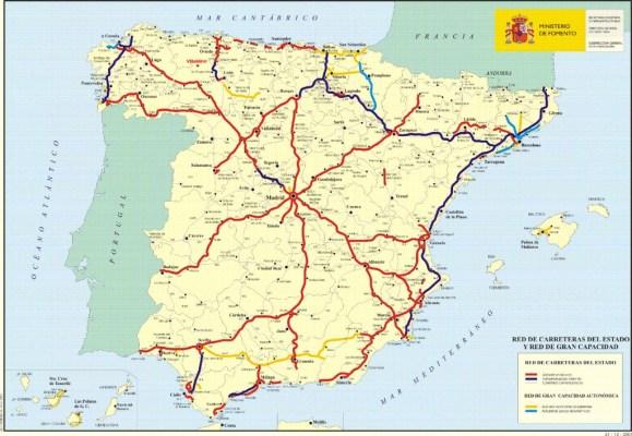 Mapa Carretero de España 3