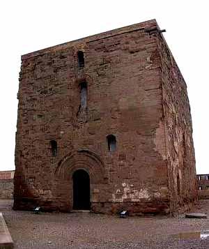 El Castillo de Monzon en Huesca 2