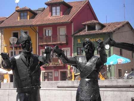 Les Castañes, en Santa Eulalia de Vigil (Siero) 1