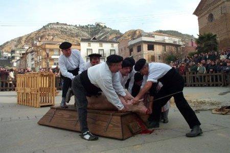 Las fiestas de enero en Aragón