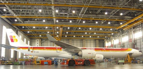 Iberia incorpora a su flota un nuevo Airbus A-340/600