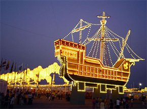 Fiestas Colombinas en Huelva 2