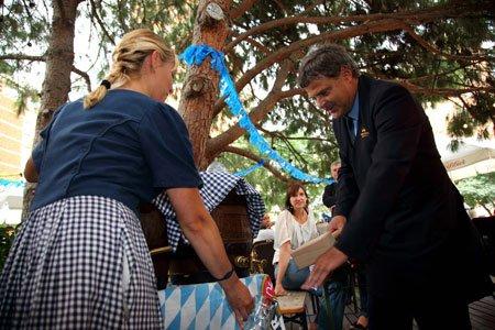 El Biergarten del Gran Hotel Princesa Sofia da comienzo a la Oktoberfest 5