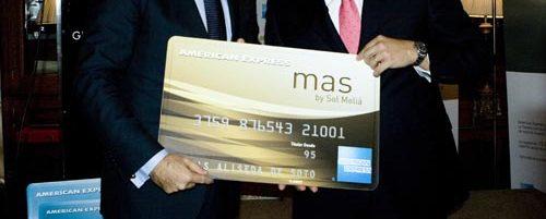 """American Express y Sol Meliá lanzan la Tarjeta """"American Express mas"""" 1"""