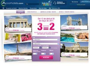 Accorhotels.com lanza su promoción de primavera 3x2