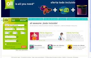 All seasons lanza su web en español  1