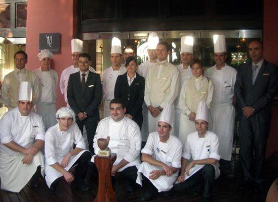 El restaurante M.B de Abama Golf & Spa Resort recibe el premio Gánigo 2011